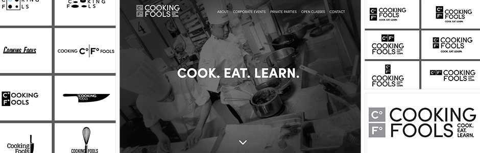 Cooking Fools Logo