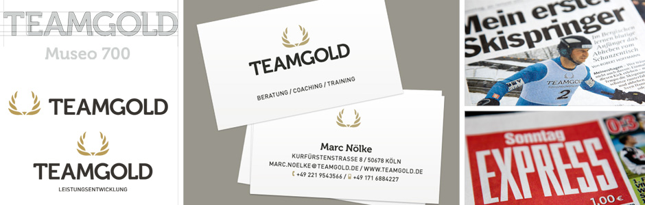 TEAMGOLD Branding