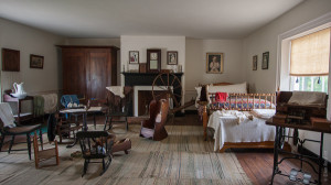 Civil War era interior
