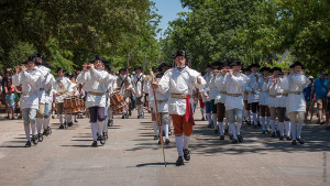 Colonial Williamsburg Marching Band 1