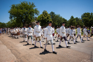 Colonial Williamsburg Marching Band 2