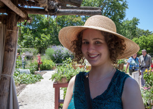 Chels at Colonial Williamsburg