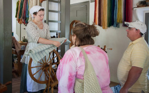 Clothmaking at Colonial Williamsburg