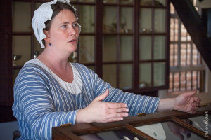 Silversmith at Colonial Williamsburg