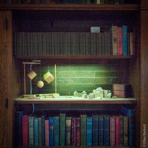 Frank Lloyd Wright Home Bookshelf